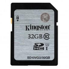 Κάρτα Μνήμης SDHC Kingston 32GB Class10